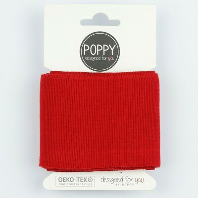 Material pentru mansete 135 x 7cm - Red