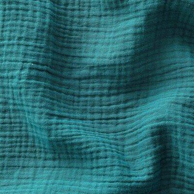 Muselina Uni - Emerald