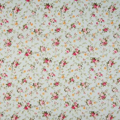 Poplin imprimat - Chintz Floral Mint