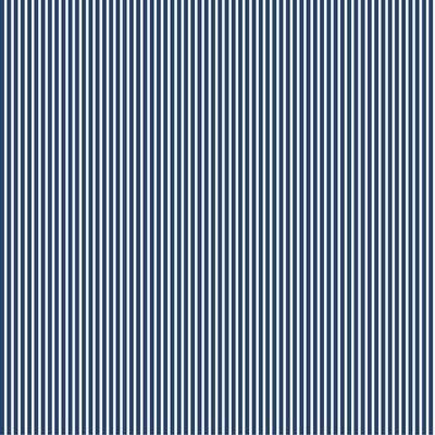 Poplin imprimat - Petit Stripe Cobalt