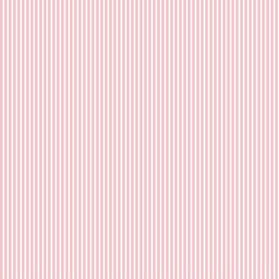 Poplin imprimat - Petit Stripe Old Rose