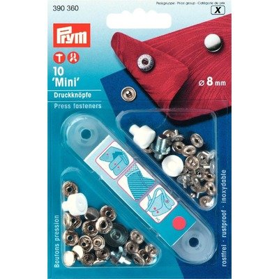 Set capse metalice 'Mini' - 8 mm