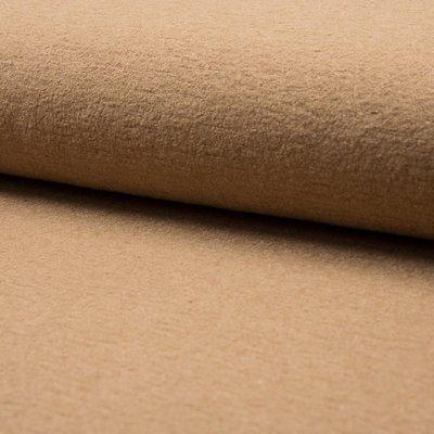 Tesatura din lana fiarta si vascoza - Camel