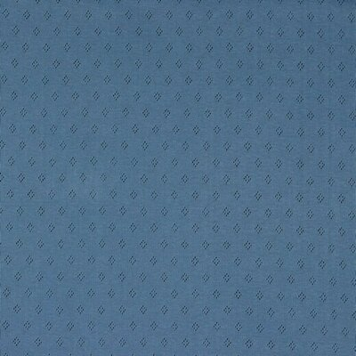 Tricot 100% bumbac - Pointoille Blue
