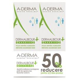 A-derma Dermalibour+ Barrier crema 100ml+50%din a doua crema