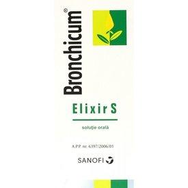 Bronchicum Elixir S soluţie orală