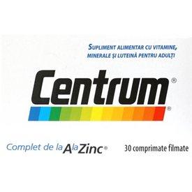 CENTRUM Complet de la A la Zinc 30 comprimate
