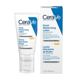 CeraVe Crema hidratanta SPF 25  de fata ten normal-uscat 52 ml