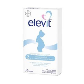 Elevit 2 (incepand cu saptamana a 13-a) x 30 capsule moi