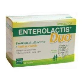 Enterolactis Duo 8 miliarde de celule vii si Inulina 20 plicuri