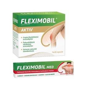 Fleximobil Aktiv 60 cps+ Fleximobil Gel 100gr