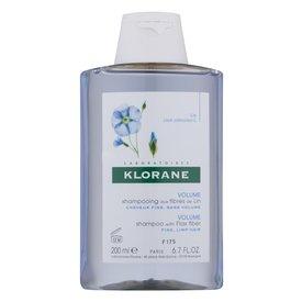 Klorane Şampon cu Fibră de In pentru Volum 200ml