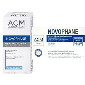 Novophane 60 capsule+sampon nutritiv 200ml