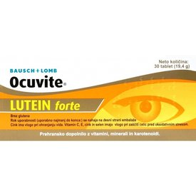 Ocuvite Lutein Forte,30  tablete