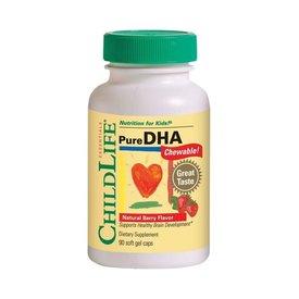 Pure DHA (gust de fructe), 90 capsule gelatinoase moi masticabile