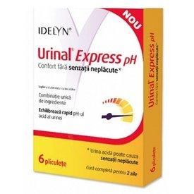 Urinal Express pH 6 plicuri