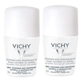Vichy Deodorant 48h Fara Parfum 50ml+50ml
