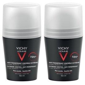 Vichy Deodorant 72h Barbati Extrem 50ml+50ml