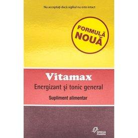 VITAMAX Energizant și tonic general, 5 capsule moi