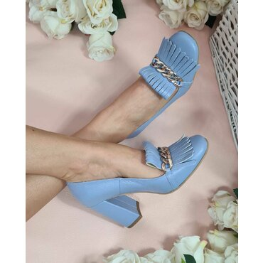 Pantofi bleodin piele naturala Amalia