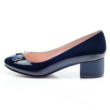 Pantofi  bleomarin de dama Elisabeta cu funda