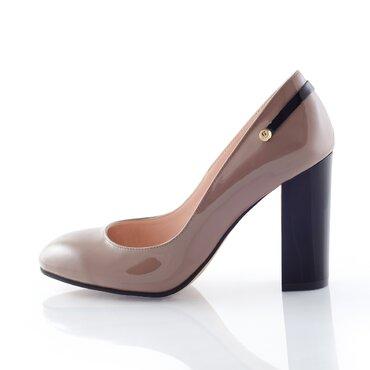 Pantofi coffee  de dama Sofi
