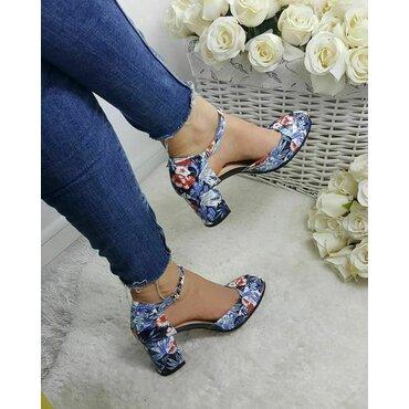 Pantofi dama imprimeu bleo Valeria