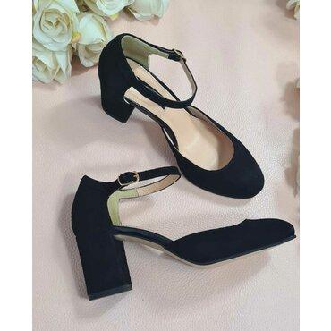 Pantofi dama piele neagra Valeria
