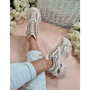 Pantofi dama sport casual roz Lion