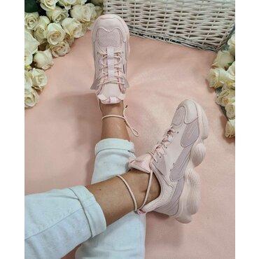 Pantofi dama sport casual roz Pippa