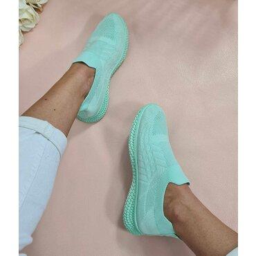 Pantofi dama sport casual verzi Poli