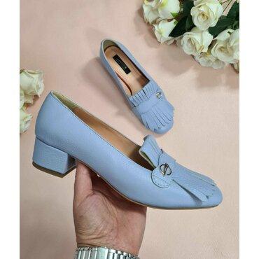 Pantofi de dama bleo cu franjuri Nikol