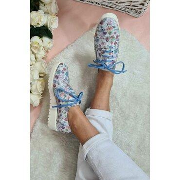 Pantofi de dama print floral Young