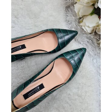 Pantofi de dama verzi Samira