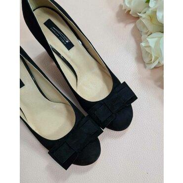 Pantofi din piele naturala neagra L2587