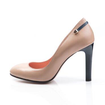 Pantofi piele bej Sofi