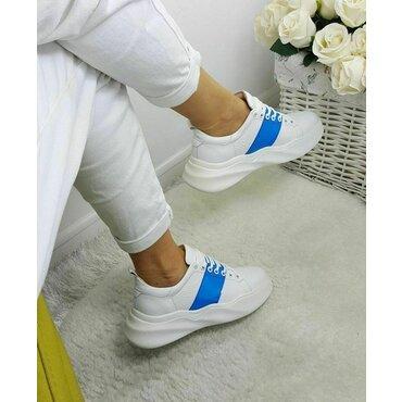 Pantofi sport albi Wave