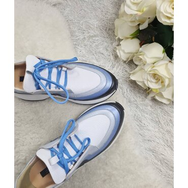 Pantofi sport din piele naturala Selina
