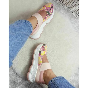 Pantofi sport din piele naturala Viky