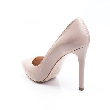 Pantofi Stiletto Trend Lac Nude