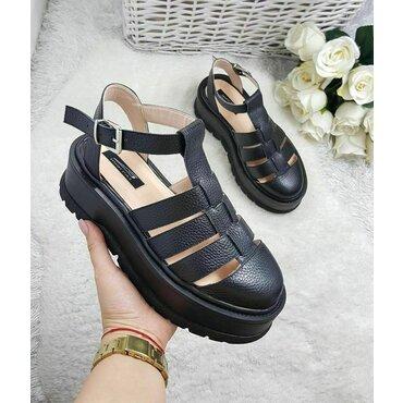 Sandale de dama negre Arina