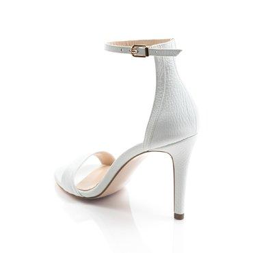Sandale de ocazie piele alba Volare
