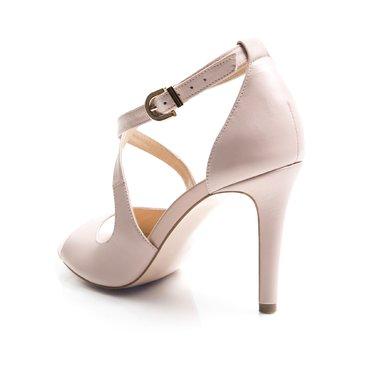 Sandale de ocazie piele roz pal Serena
