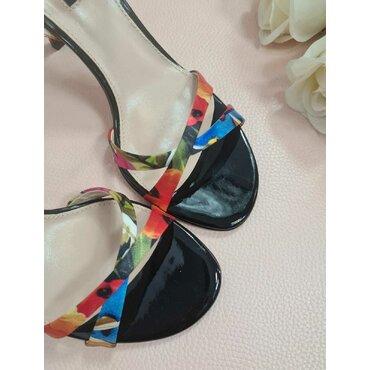 Sandale imprimeu floral L2558