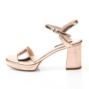 Sandale piele aramie Beeri