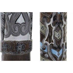 Albasia Set 2 Decoratiuni perete, Lemn, Maro