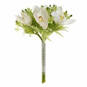 Alma Floare decorativa, Plastic, Alb