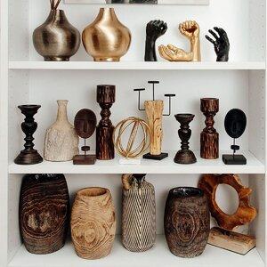Bao Decoratiune, Lemn, Bej