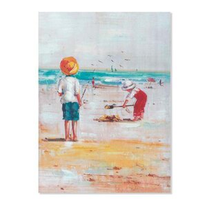 Beach Tablou, Canvas, Multicolor