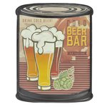 Beer Decoratiune perete, Metal, Multicolor
